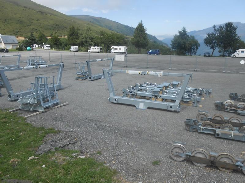Construction du télésiège fixe 4 places (TSF4) Sapins Dscn3140