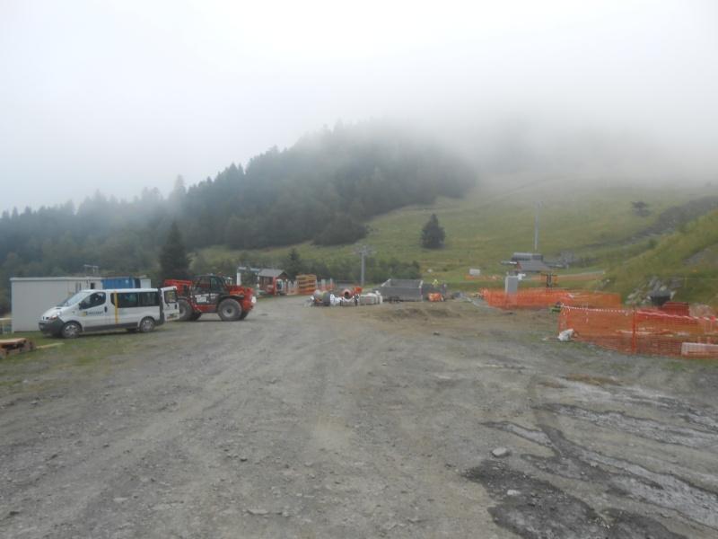 Construction du télésiège débrayable 6 places (TSD6) du Céciré Dscn3214