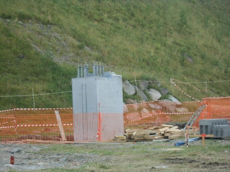 Construction du télésiège débrayable 6 places (TSD6) du Céciré Dscn3216