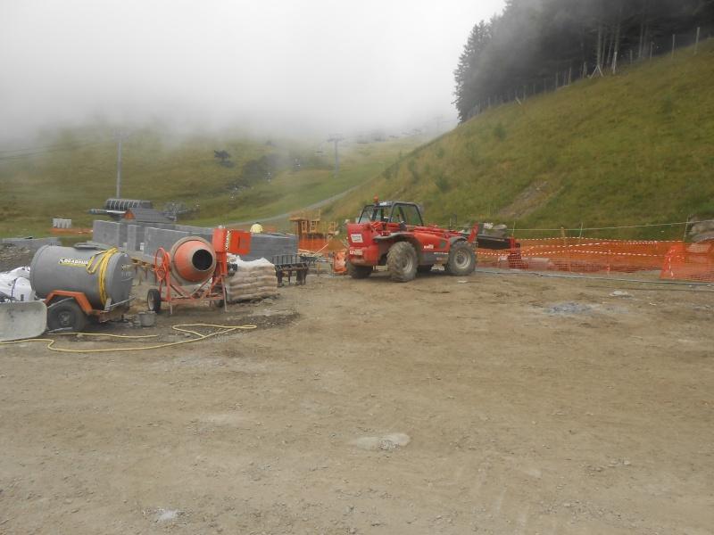 Construction du télésiège débrayable 6 places (TSD6) du Céciré Dscn3221
