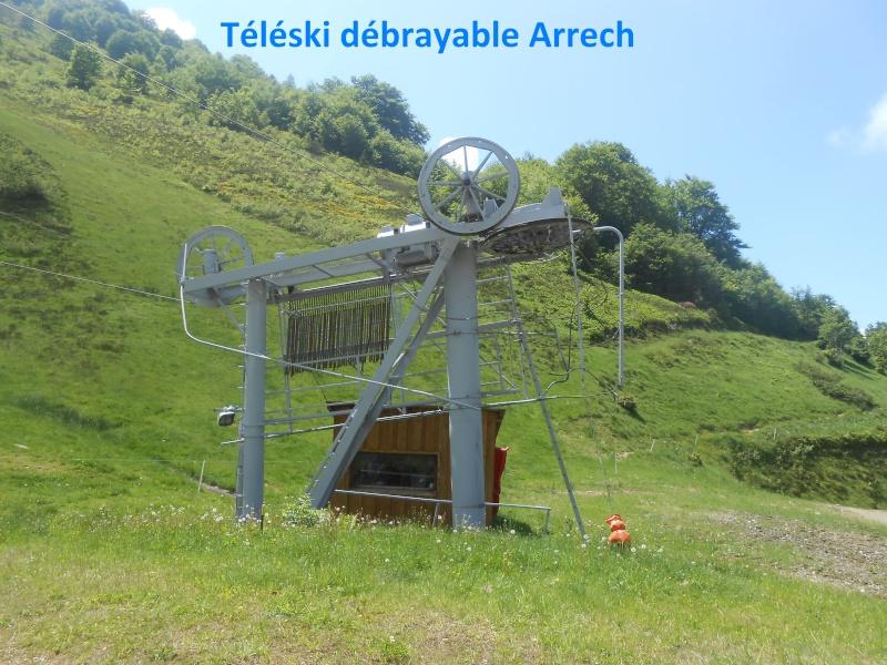 Téléski débrayable Arrech G1-tk-11