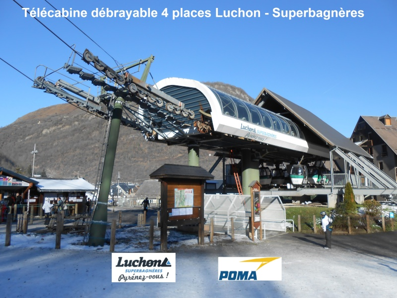 Télécabine débrayable 4 places (TCD4) Luchon Superbagnères Tcd-lu10