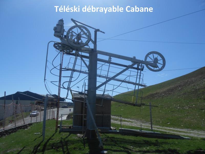 Téléski débrayable (TKD) Cabane Tk-cab10