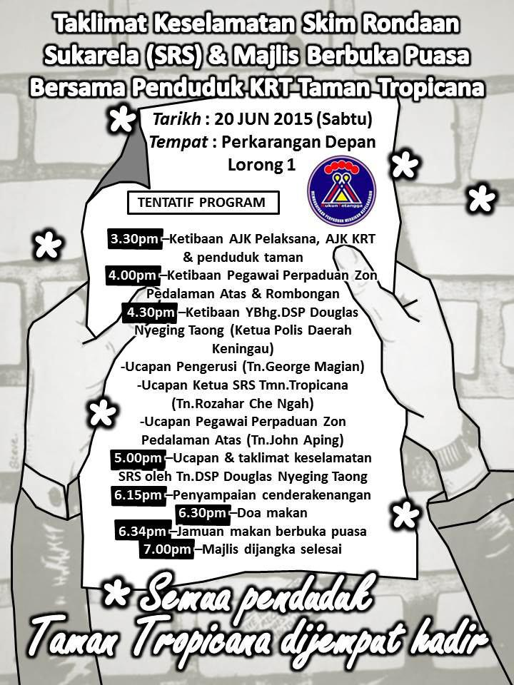 Taklimat Keselamatan SRS & Majlis Berbuka Puasa Bersama Penduduk KRT Tmn Tropicana (20jun2015) Photo_38