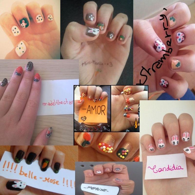 [Résultats concours 10 ans] Les gagnants nail-art Partic10