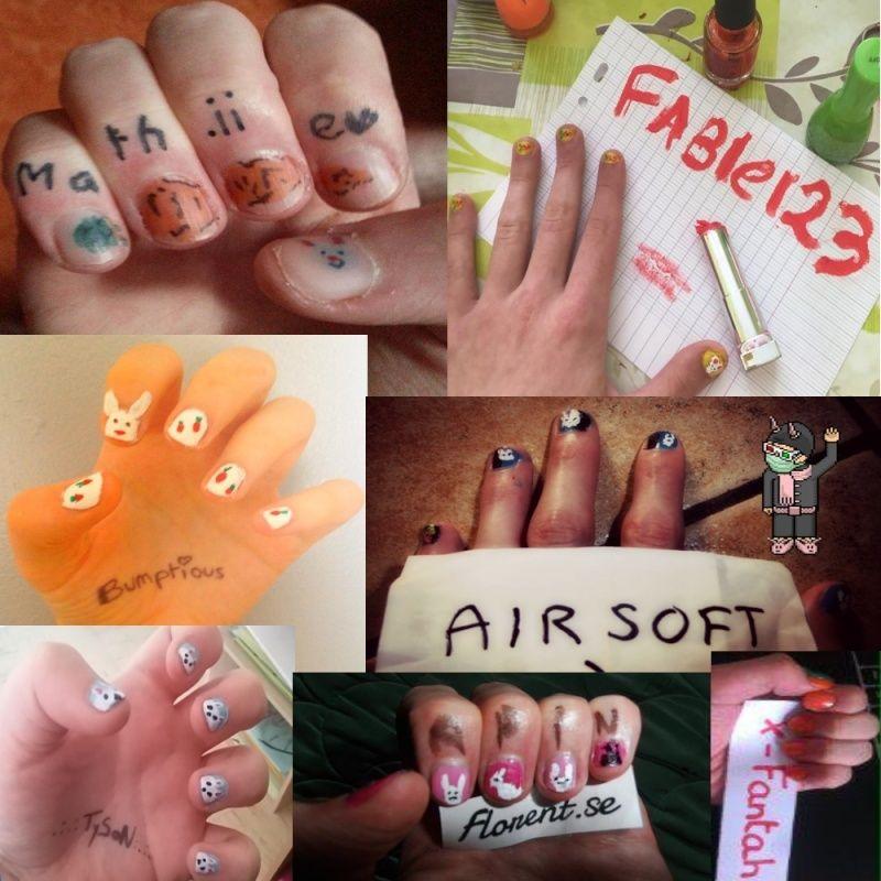 [Résultats concours 10 ans] Les gagnants nail-art Partic11