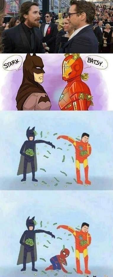 How a true Bruce Wayne Vs Tony Stark fight would go Tony_s10