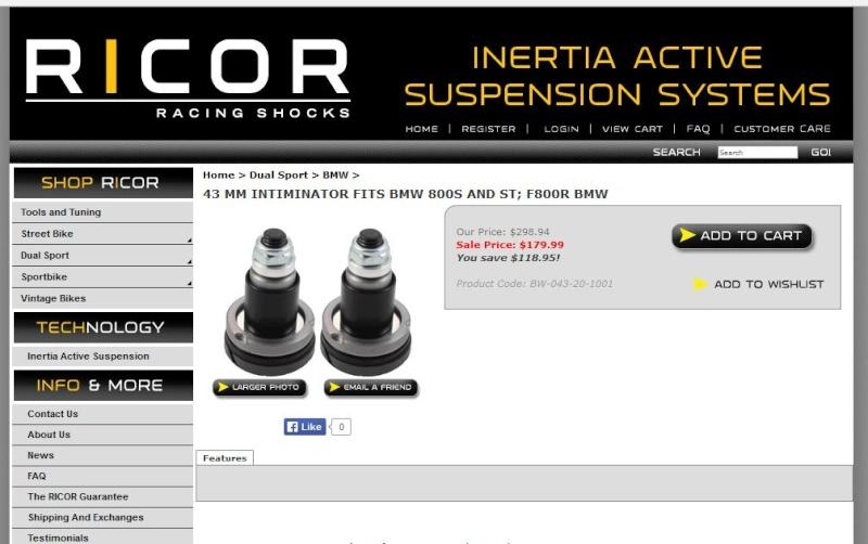 Kit fourche RICOR Ricor11