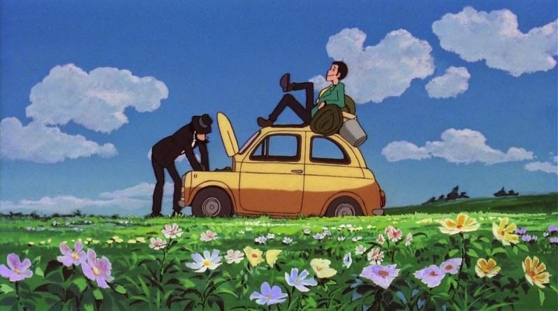 Lupin III: Cagliostro no Shiro (Le château de Cagliostro) Chatea10