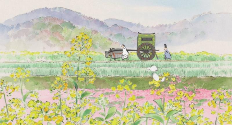 Kaguya-hime no Monogatari (Le conte de la princesse Kaguya) Le-con11