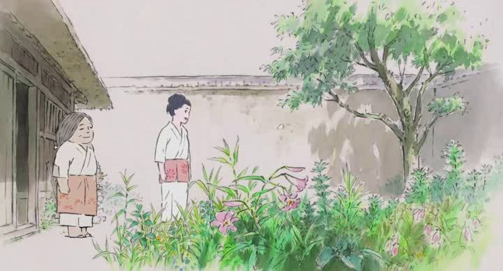 Kaguya-hime no Monogatari (Le conte de la princesse Kaguya) Vlcsna45