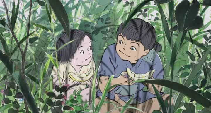 Kaguya-hime no Monogatari (Le conte de la princesse Kaguya) Vlcsna47