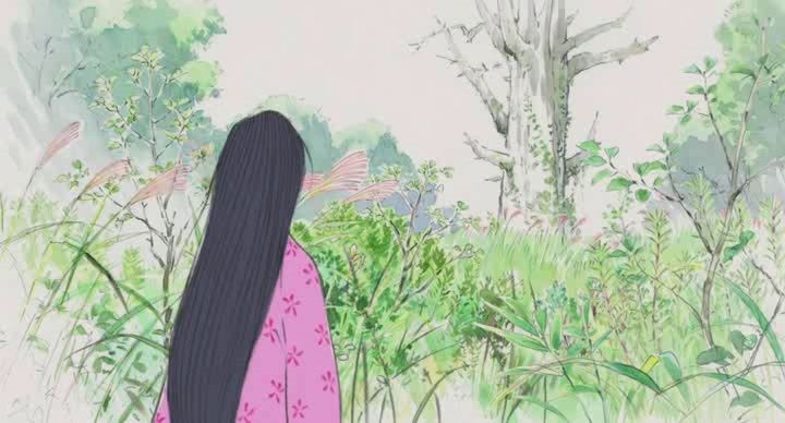 Kaguya-hime no Monogatari (Le conte de la princesse Kaguya) Vlcsna48