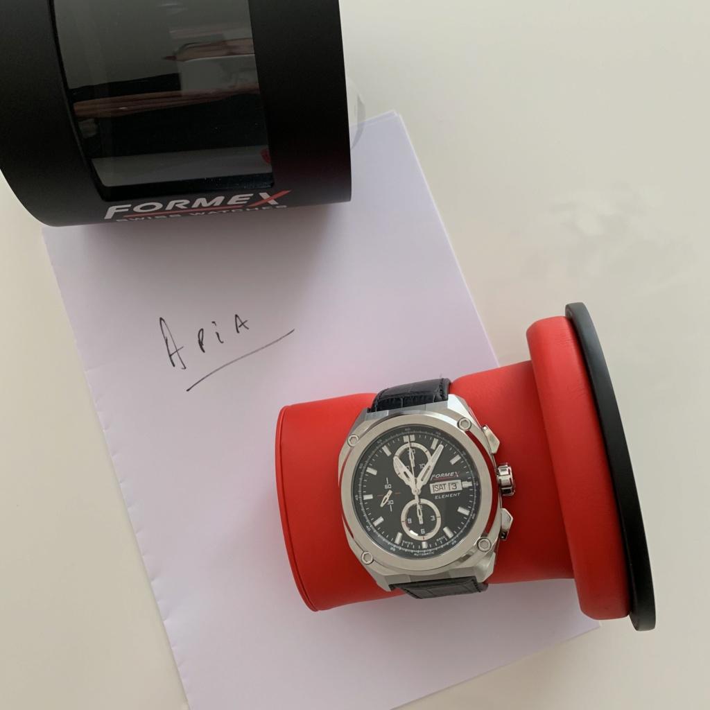 Vends - [Baise de prix][Vends] Chronographe Formex Element quasi neuve - 1100€ Img_0517