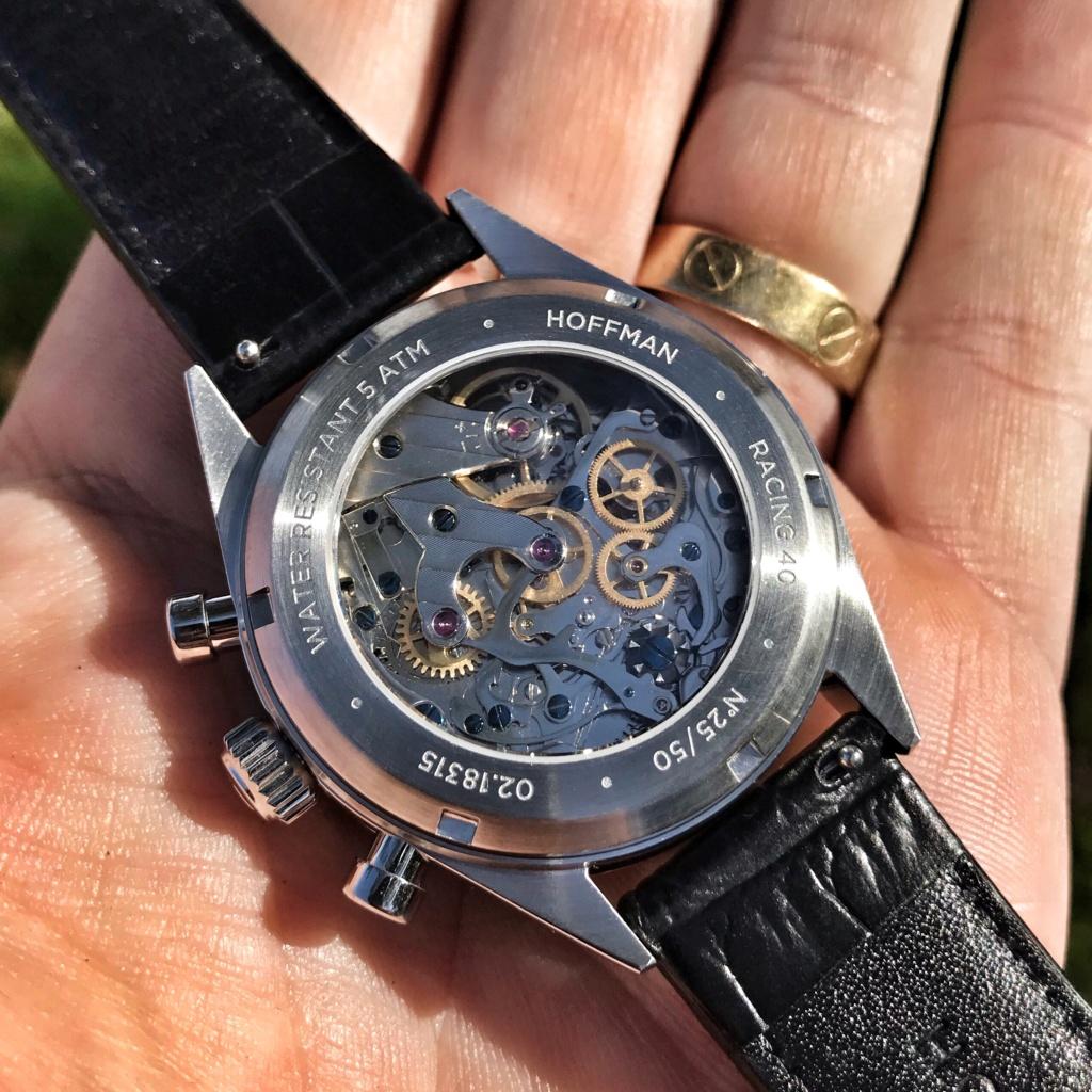 Vends - [Baisse de prix - Vends] Chronographe mécanique HOFFMAN Racing 40 Panda Neuve Img_3811