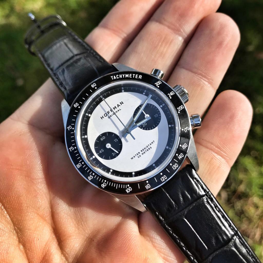 Vends - [Baisse de prix - Vends] Chronographe mécanique HOFFMAN Racing 40 Panda Neuve Img_3812