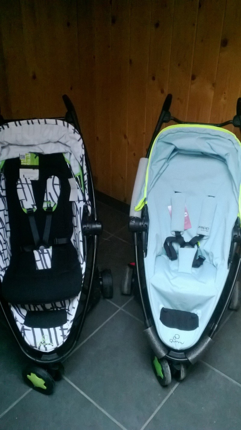 chassis Poussette Quinny zapp et quinny zapp xtra Neuf