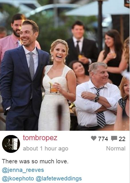 Tim Lopez nog steeds dating Jenna Reeves