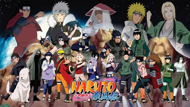 Naruto / Naruto Shippuden Konoha10