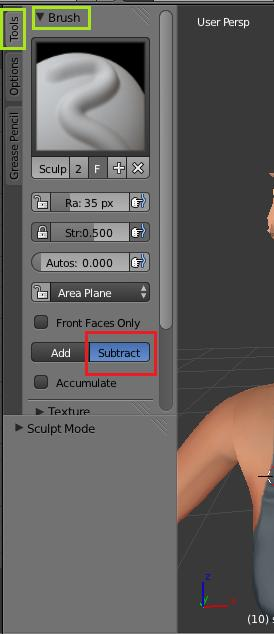[Intermédiaire] [Blender 2.6 et 2.7] Conversion de coiffure Sims 4 d'un sexe à l'autre : la modification de mesh. Blende14