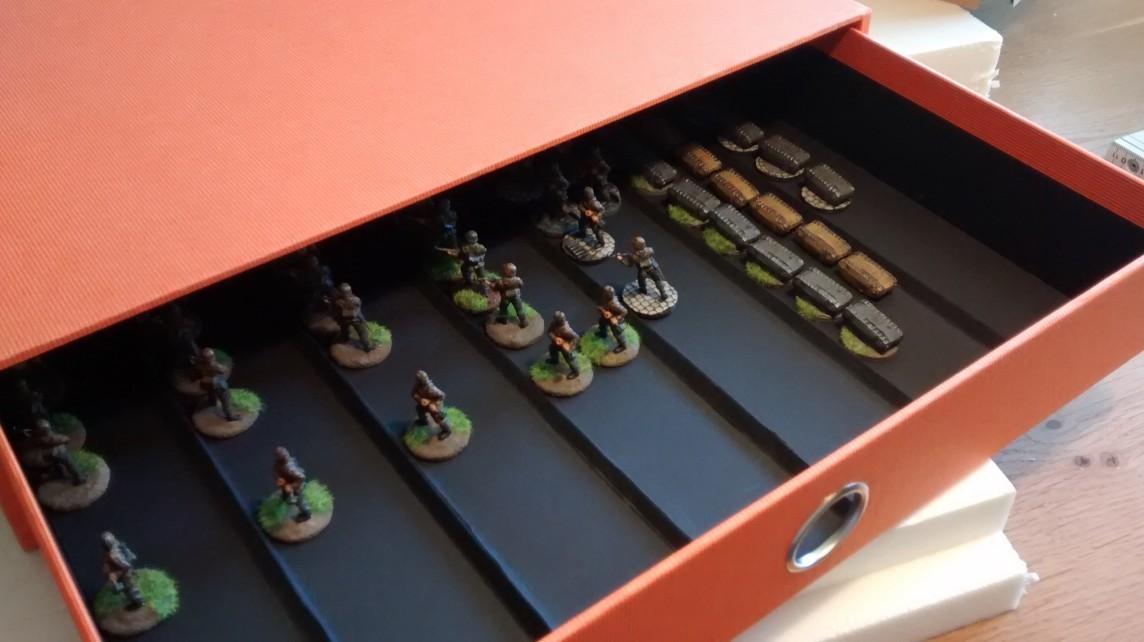 Kasernenbau: Aufbewahrung der Minis samt schwerer Ausrüstung Kasern22
