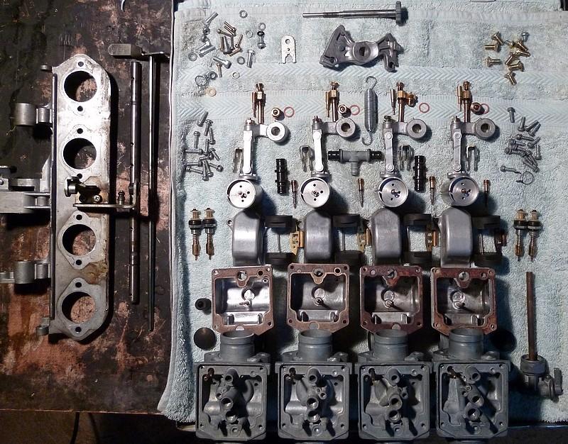 Carburateurs ZIE n° série 0411x de 73 Ss10
