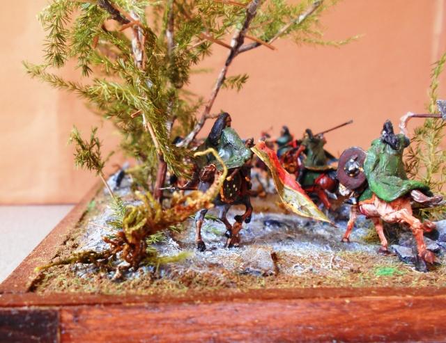 La prise des Hobbits et cavaliers du Rohan au 1/72 Album_26