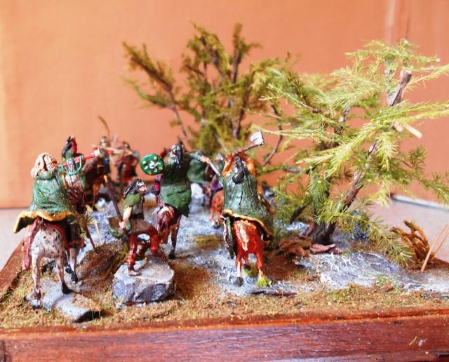 La prise des Hobbits et cavaliers du Rohan au 1/72 Album_29