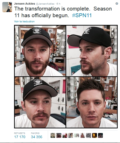 Le Twitter/FB/Insta de Jensen et Danneel - Page 3 Barbe_10