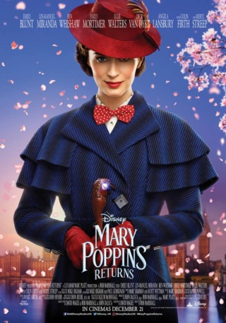 Mary Poppins returns (avec Emily Blunt) 46081610