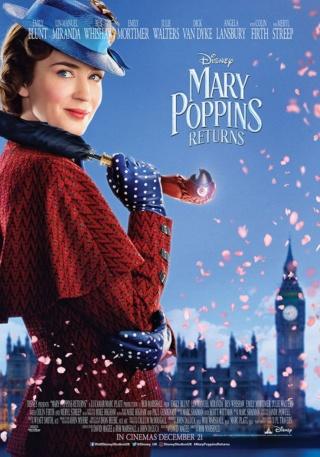 Mary Poppins returns (avec Emily Blunt) 46105710