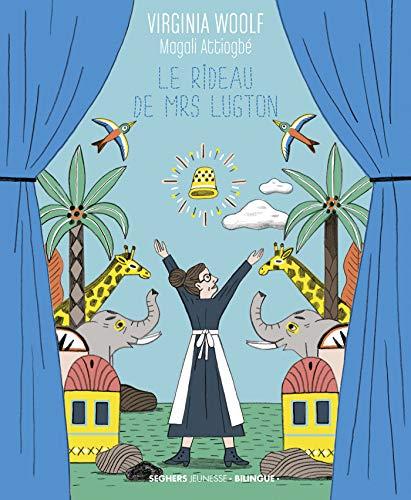 Le Rideau de Mrs Lugton de Virginia Woolf (illustré par Magali Attiogbé) 51wed010