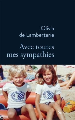 Avec toutes mes sympathies d'Olivia de Lamberterie 71feaj11