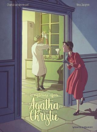 La Mystérieuse affaire Agatha Christie de Chantal van den Heuvel et Nina Jacqmin 71ngzz10