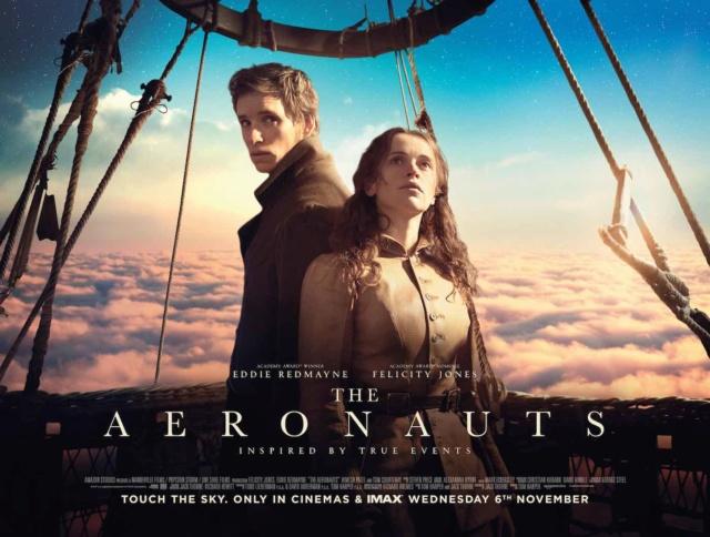 The Aeronauts (avec Eddie Redmayne et Felicity Jones) Aerona10