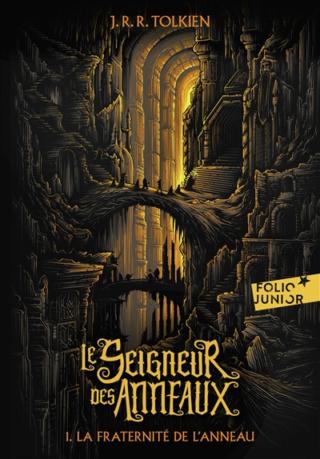 Le Seigneur des Anneaux, Tome 1 : La fraternité de l'Anneau de J. R. R. Tolkien Couv7410