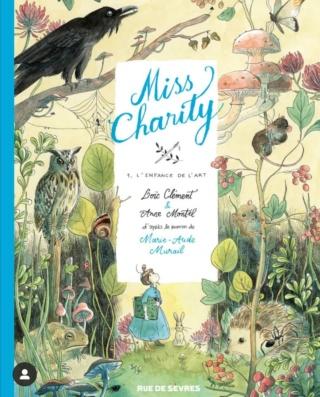 Miss Charity de Marie-Aude Murail : l'adaptation BD Screen11