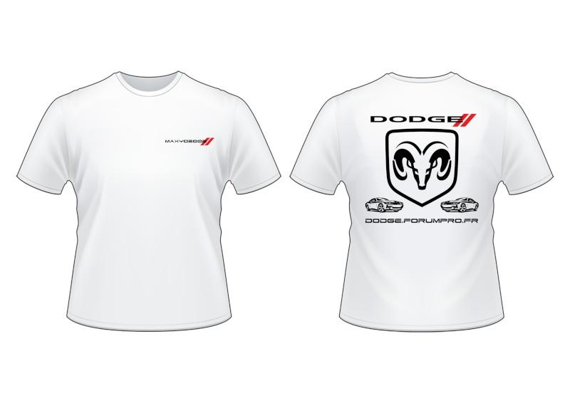 T-Shirt Dodge personnalisé - Avis ?  T-shir11