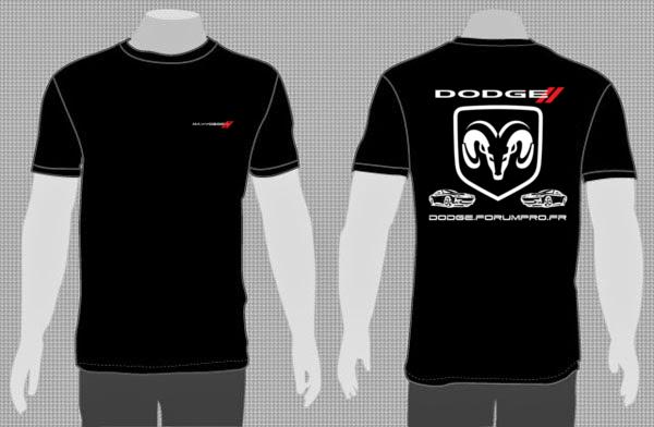 T-Shirt Dodge personnalisé - Avis ?  T-shir12