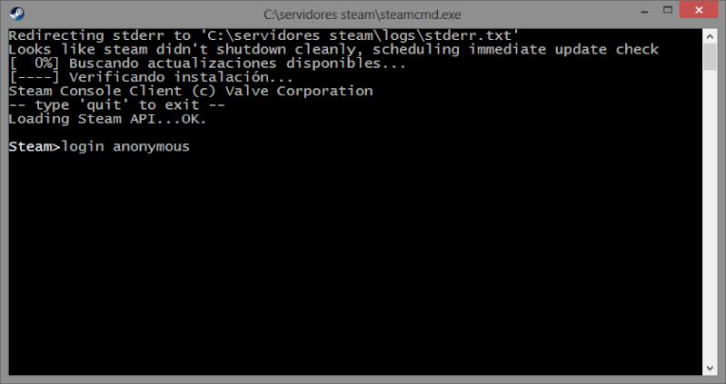 CREA TU PROPIO SERVIDOR  DE Day of Defeat Source o cualquier server de plataforma steam. Anonym10