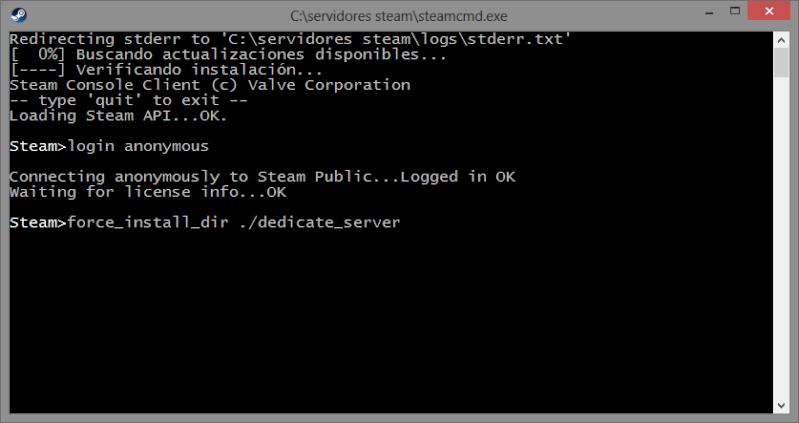 CREA TU PROPIO SERVIDOR  DE Day of Defeat Source o cualquier server de plataforma steam. Dedica11