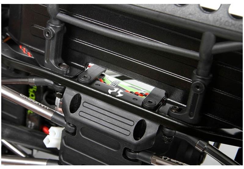 Fabriquer un bas de caisse ou protection de caisse fait maison pour Scx10 et tout scale trial Ax311513