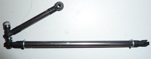 Optimiser et améliorer l'angle de braquage ou direction de SCX10 d'origine Barre-10