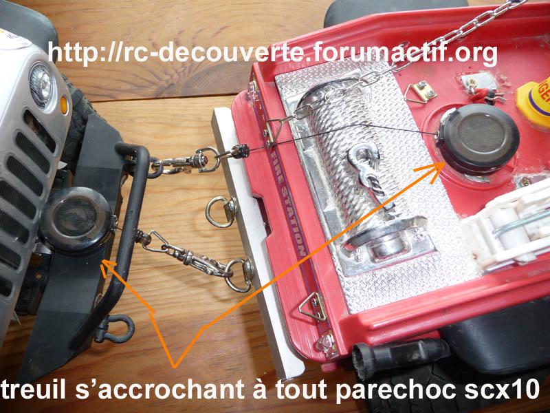 Fabriquer un treuil pour Scale Trial et Crawler pas cher à 1 Euro Treuil10