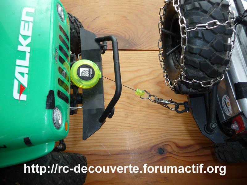Fabriquer un treuil pour Scale Trial et Crawler pas cher à 1 Euro Treuil11