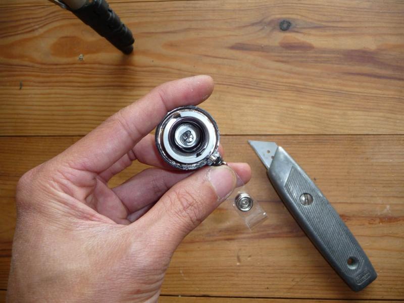 Fabriquer un treuil pour Scale Trial et Crawler pas cher à 1 Euro Treuil14