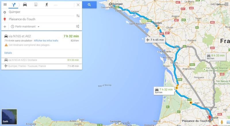 Quimper > Toulouse (850km) Parcou10
