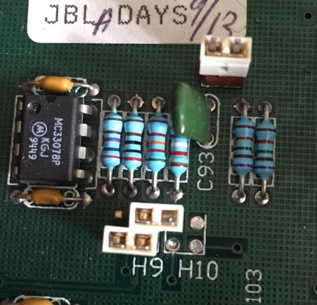 Réglage jbl  m552 en bi-amplification sur mes L200 H9-h1010