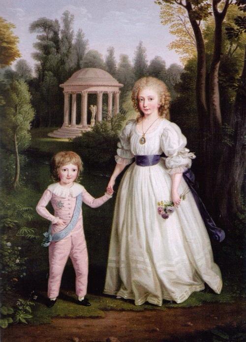 Portraits de Madame Royale, duchesse d'Angoulême - Page 2 004_211