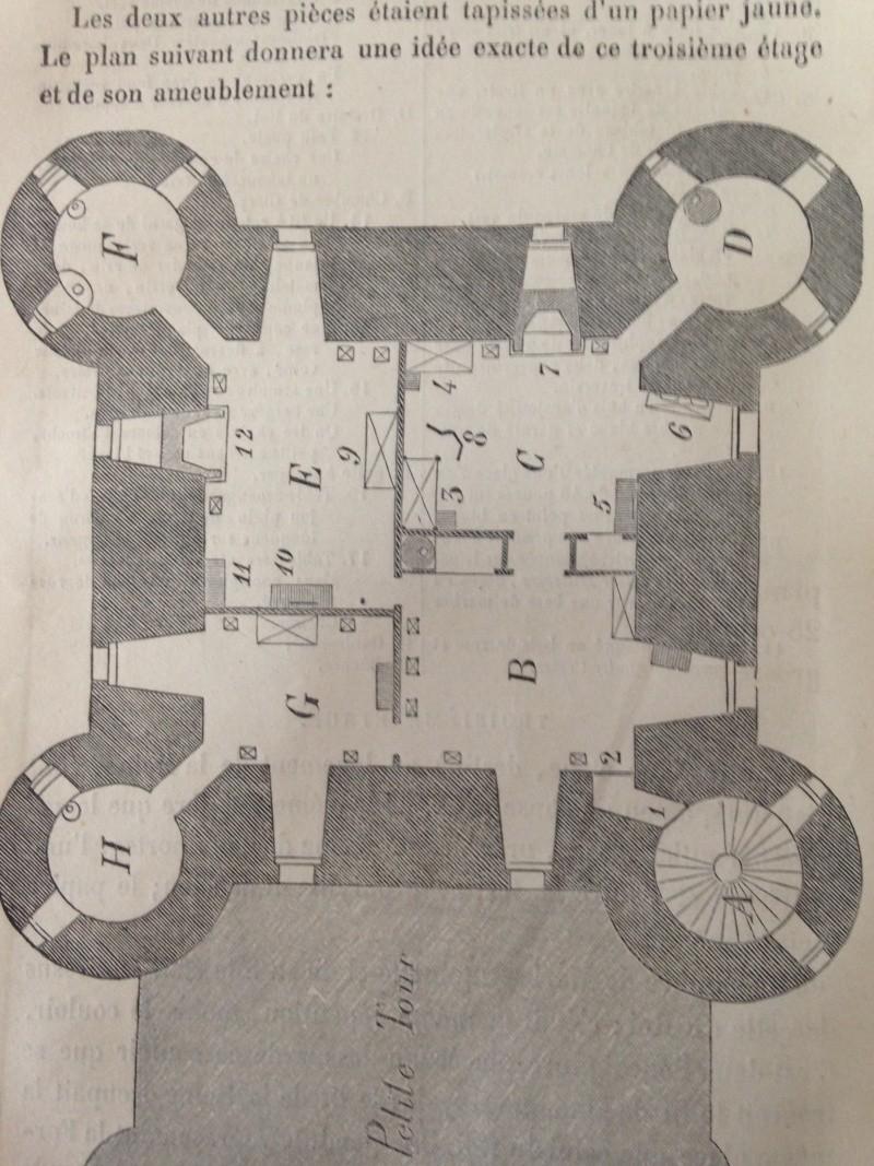 La famille royale à la prison du Temple : plans et aménagements - Page 2 026_210